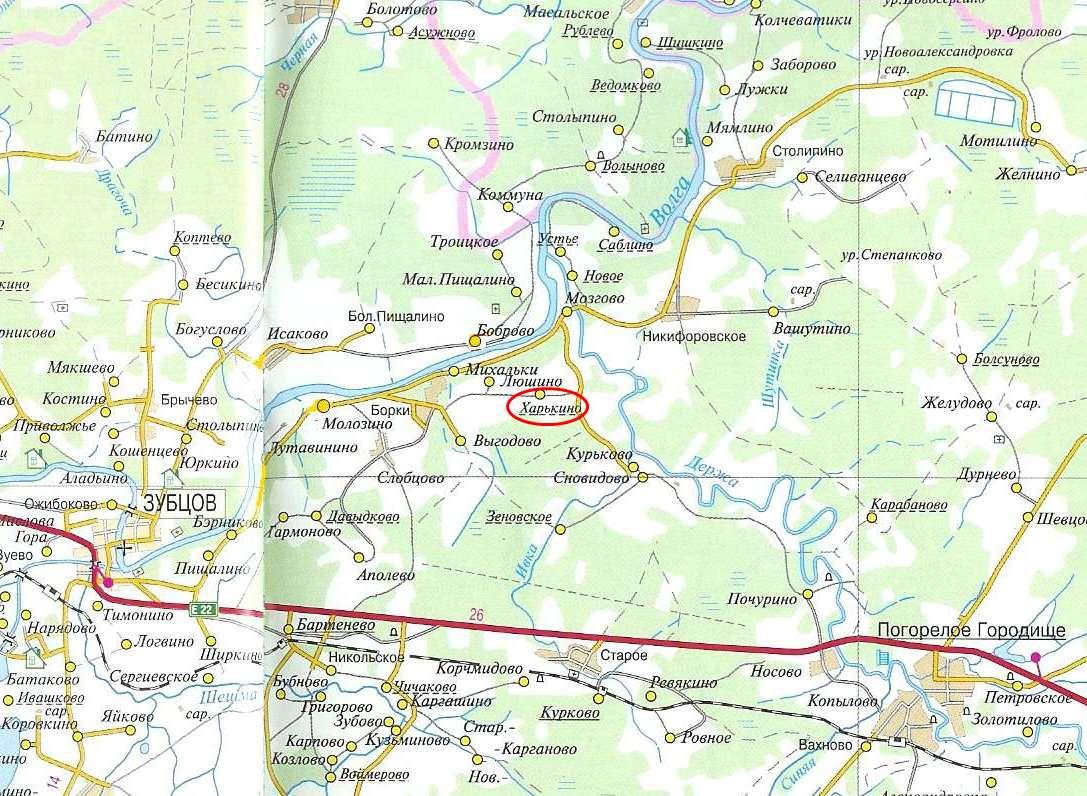 Земельный участок: 2,9 Га, Зубцовский район