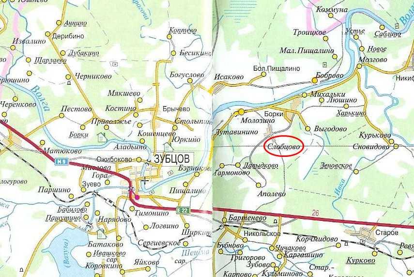 Земельный участок: 58 соток, Зубцовский район