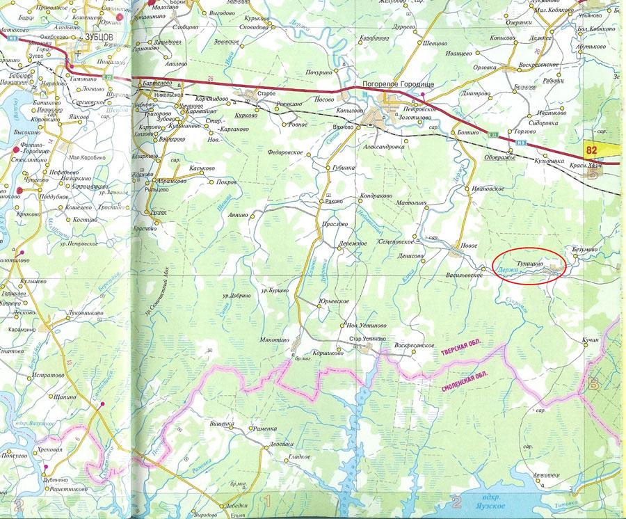 Земельный участок: 151,5 Га, Зубцовский район