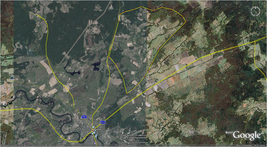 Земельный участок: 1740 Га, Ржевский район