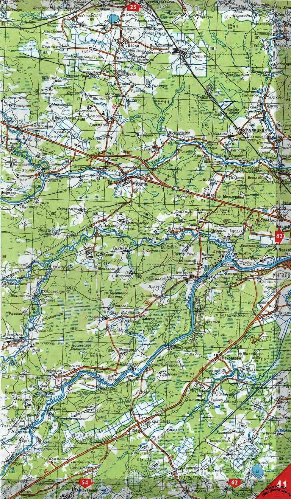 карта тверской области 44 года можно сказать, что
