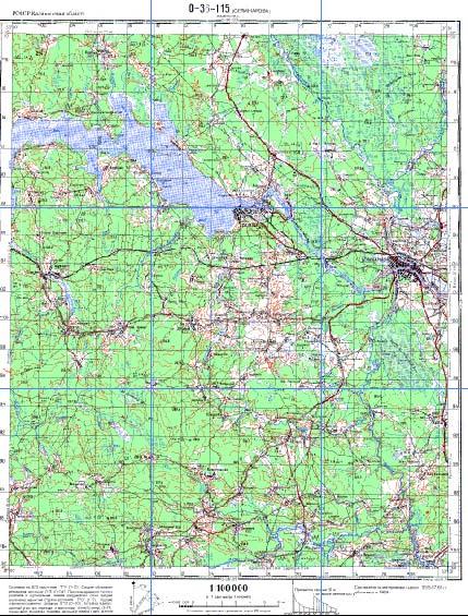 Карта кимрского района тверской области подробная